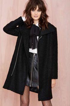 Maggie Coat | Shop Mod at Nasty Gal