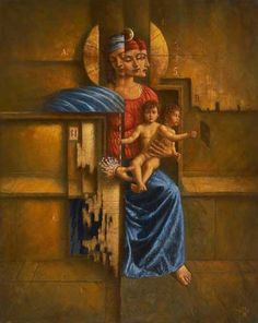 The Madonna, 2003 by Jake Baddeley
