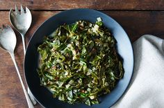Collard Greens Braised in Coconut Milk, a recipe on Food52