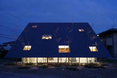 Gallery of Eaves House / mA-style architects - 28