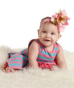 Love this Rosebloom Alina Dress & Leggings - Infant & Toddler by Wonderland by Kidcuteture on #zulily! #zulilyfinds