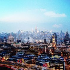 NYC Skyline vs LDN Skyline #LDNxNYC