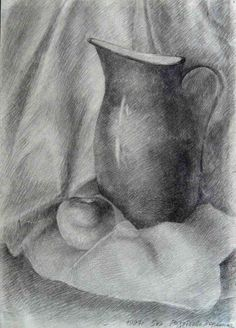 Академический рисунок : Чебоксарская детская художественная школа № 4 им. Э. М. Юрьева