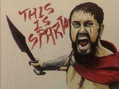 King Leonidas by wsjoop1119.deviantart.com on @deviantART