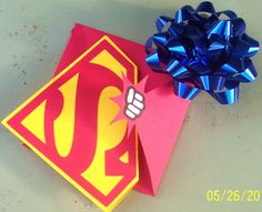 Superman Birthday Party Invitations and by InvitationsAndMore, $23.95
