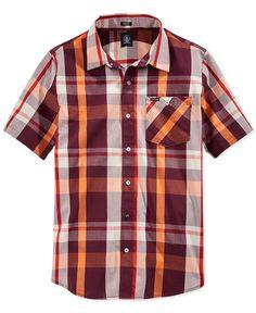 Volcom Campton Plaid Shirt