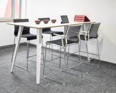 Task Office Systems - High Work Table