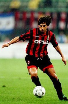 Demetrio Albertini - AC Milan, Padova, Atletico Madrid, Lazio, Atalanta, Barcelona, Italy.