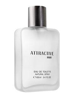 Parfum pentru barbati Attractive - 100 ml - Apa de toaleta. Colectie de lux. Conceput pentru un barbat increzator si elegant. Elegant, fresh. Concentratie de parfum 12%. Attractive Men, Flask, Barware, Perfume Bottles, Amp, The Originals, Eau De Toilette, Hot Men, Perfume Bottle