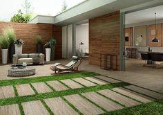 Balkone Und Terrassen Mit Fliesen In Holzoptik