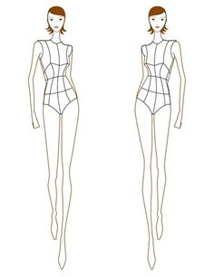 how to sketch figures for dressmaking - Google Search