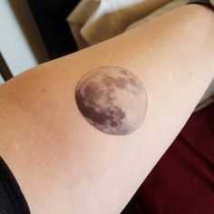 2 Full Moon Temporary Tattoos - SmashTat