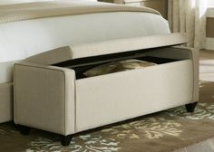 Shop for the Liberty Furniture Upholstered Beds Lift Top Bed Bench at Pilgrim Furniture City - Your Hartford, Bridgeport, Connecticut Furniture & Mattress Store Padded Storage Bench, White Storage Bench, Storage Bench Seating, Upholstered Storage Bench, Ikea Storage, Upholstered Beds, Bedroom Storage, Ottoman Storage, Entryway Storage