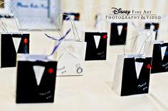 Adorable bride and groom favor boxes #wedding #favor #boxes