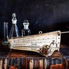"""""""#antique #laboratory #equipment My cool old #manometer is heading off to the set of Elementary It will be fun to watch for it!"""" Photo taken by @veraviola_vintage on Instagram, pinned via the InstaPin iOS App! http://www.instapinapp.com (10/19/2015)"""