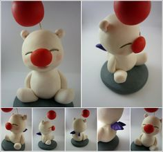 Moogle (Final Fantasy) by ~Elaiss-in-iceland on deviantART