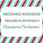 Abecedario Montessori