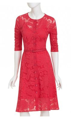 Nanette Lepore Rock Steady dress, $448, Tahiti Pink