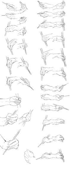 手足の資料(トレス) by たぶち on Pixiv