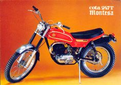 Motoalpinismo nel 1974