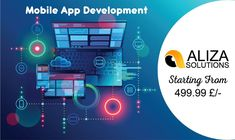 Professional Mobile App Development. 100s of Happy Clients. Quality Solutions- Talk Today! Our Team of Experts provide you with quality App Development Services.  Price Starting From 499 £/=  Get a Quote Now : www.Alizasolutions.com  #app #application #mobileapp #mobileapplication #development #mobiledevelopment #designing #uiux #alizasolutions. Social Media Marketing Agency, Marketing Tactics, Digital Marketing Services, Marketing Plan, Online Marketing, What Is Work, Seo Optimization, Web Design Company, App Development