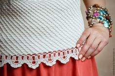 "handmade tops.  Top ""Juventude"".  projeto Lyudmila Vostrikov Knitting.  Mestres justas.  o desgaste do verão, rendilhado topo"