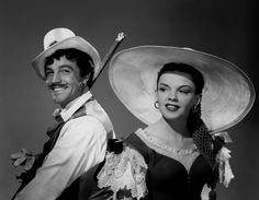 Gene Kelly and Judy Garland from 'The Pirate', 1948