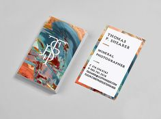 Check out this gallery of amazing business cards. I think we need to step our game.