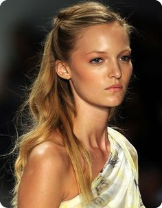 Awesome Blonde Homecoming Hairstyle - Homecoming Hairstyles 2014