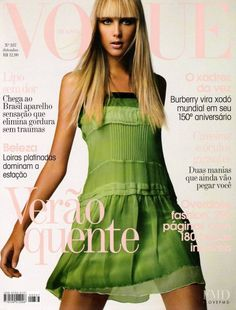 Cover of Vogue Brazil with Gianne Albertoni, September 2006 (ID:811)| Magazines | The FMD #lovefmd