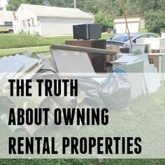 The good, the bad and the ugly of owning rental properties. Tips and thoughts from an experienced property owner.