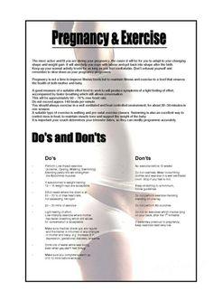 Pregnancy Workouts | MyBodyAfterBaby.com