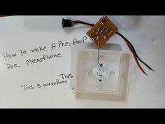Hi this is my second channel video. This video i will show how to make a pre amplifier circuit.
