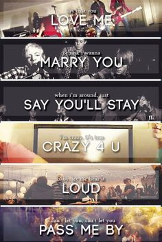 R5 songs. Love all of these videos.