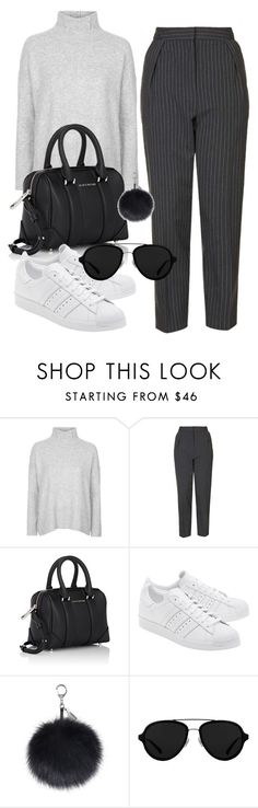 Untitled #93 by amya9811 on Polyvore featuring Topshop, Givenchy, 3.1 Phillip Lim and adidas Originals