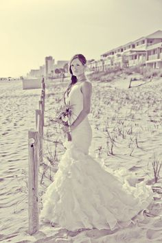 #beach wedding dress