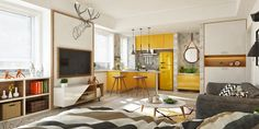 4+First+Home+Interior+Ideas+With+A+Scandinavian+Twist