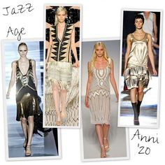 Look moda anni '20 - Look dalle passerelle