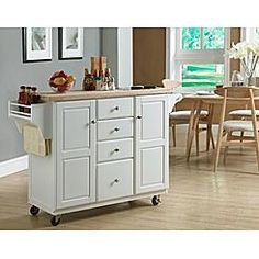 Kitchen Island with Granite Insert: Glamorous Functionality from Sears Buy Home Furniture, Girls Bedroom Furniture, Furniture For Small Spaces, Kitchen Furniture, Furniture Buyers, Space Furniture, Industrial Furniture, Furniture Ideas, Portable Kitchen Island