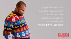 Home / Cheesy Christmas Jumpers
