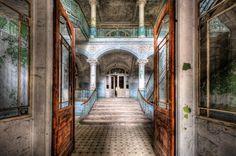 Die Beelitz-Heilstätten in Brandenburg waren einst für Lungenpatienten...