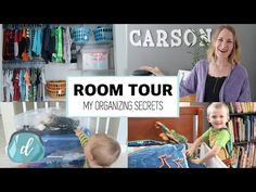 Room Tour & Closet Organization | Five Tips for Kids! - YouTube