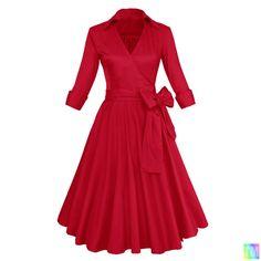 ELEGANT Vintage Retro 1950 s 40 s rockabilly pinup swing evening dress hepburn