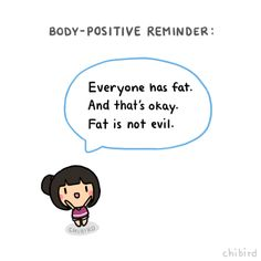 body positive reminder!