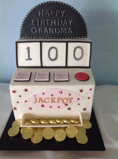 Image Result For 100th Birthday Cake