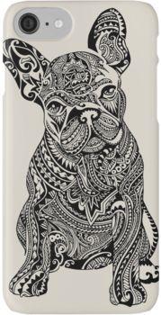 Polynesian French Bulldog iPhone 8 Cases French Bulldog Tattoo, French Bulldog Facts, Bulldogge Tattoo, Hippe Tattoos, Photo Stitch, Arte Tribal, Doodles Zentangles, Mandala Art, Dog Art