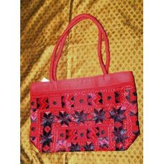 Sari Handbag Persian Red Banjara Mirrors Designer Purse (Apparel)  http://www.amazon.com/dp/B005CG1J8Y/?tag=worldshouts-20  B005CG1J8Y