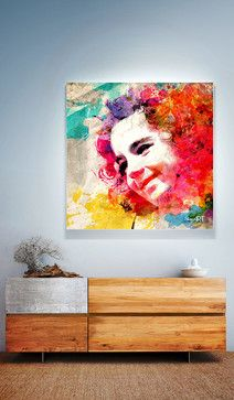 """Modern Abstract Digitally Created Painting """"JOY"""" by Donika Nikova - ShaynART   Price $37 - $370 / Depends from materials and size   Acrylic Cancas Framed Metal Prints available >> http://fineartamerica.com/products/joy-donika-nikova-shaynart-acrylic-print.html   www.shaynart.com"""