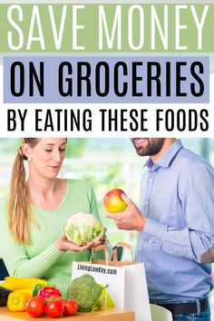 Are you looking for cheap foods to buy when your broke? Here are the most affordable foods to eat when you don't have money but you still want to eat good. #savemoneyonfood #savemoneyongroceries Best Money Saving Tips, Money Saving Meals, Save Money On Groceries, Money Tips, Cheap Meals To Cook, Large Family Meals, Frugal Living Tips, Useful Life Hacks, Good And Cheap