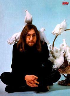 """Doves loved John Lennon, """"The Guru of Peace."""""""